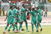 The Nigerian home-based Super Eagles