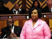 SA Foreign Minister, Maite Nkoana- Mashabane