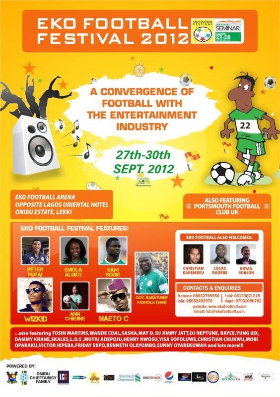 Eko Football Festival 2012 and the Soccerex Seminar Lagos,