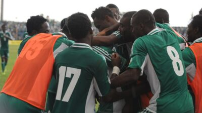 Nigeria defeated Ethiopia 2 - 0 in the second leg to qualify for FIFA 2014 World Cup in Brazil. AFP PHOTO/PIUS UTOMI EKPEI