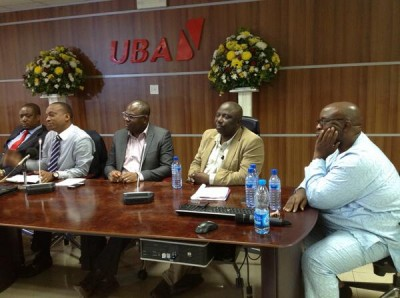 #NGJournalists panel on 'Ethics: Why it matters in Social Networking' at the Nigerian Summit on Journalism and Social Media at the UBA House in Marina, Lagos - February 20, 2014.