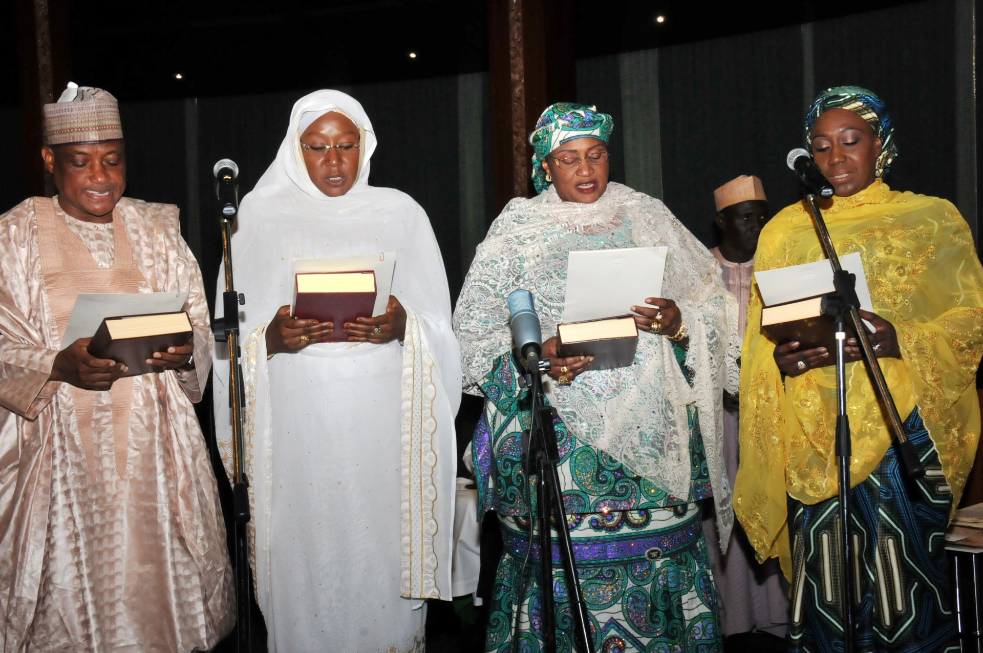 President Buhari inaugurates cabinet, assigns portfolios
