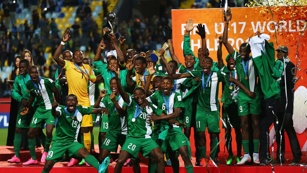 Golden Eaglets arrives in Abuja to grand welcome